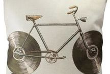 Home Decor - Bicycle Style / Proclaim your biketude! Put your bike life on the walls and furniture inside your home, and let all who enter behold your two-wheeled infatuation.