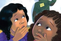 Diverse chapter books/early readers / Diverse books for early readers who are not yet ready for full-length MG novels.
