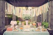 Party decor + food ideas
