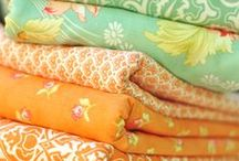 Fabrics & Patterns / Favourite colours & patterns / by Grace Pugh