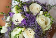 August wedding for Amanda / Vineyard, pale yellow, lavender, baby's breath, lace,