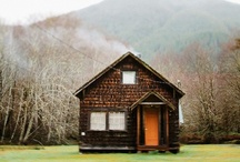 The Great Escape / Cottages, cabins, treehouses, playhouses, and other getaways / by Lilly Meyer