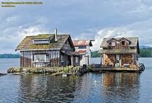 Tiny House + Water = Houseboat / by Dusky Loebel