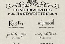 Fonts & Layouts