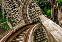 Abandoned amusement parks. Dedicated to Ponchartrain Beach in New Orleans / by Dusky Loebel