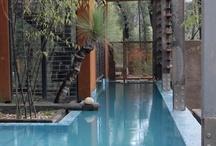 Ponds, pools, bathtubs, water  / by Dusky Loebel