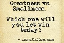 Igniting Greatness / Greatness inspiration