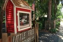 Little Free Libraries / A collection of little free libraries around the world. / by Somers Library