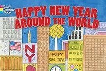 Happy New Year / Great books to share, and celebrate the New Year.