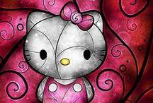 Hello Kitty / by Crystal Cisneros