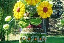 Növény- és virágszobrászat
