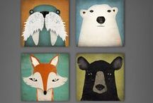 Nursery art / Ideas for great art for the baby's room