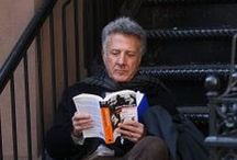 Celebrity Readers / Just some photos of famous people reading books for your enjoyment :)