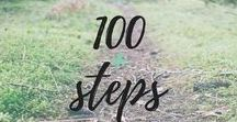 100 Steps to Health and Fitness / 100 Skinny Steps that will give you inspiration as you travel in your fitness journey. Tips to help you break through the weight loss plateau, motivation and quotes to help you get going and never quit, and healthy recipes. The focus is on how to speed up your sluggish metabolism, and skinny steps to help you transform your life.