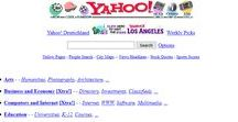 Yahoo timeline 1996 – 2017 / Look through the development of Yahoo websites on a timeline.
