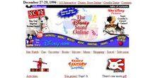 Disney timeline 1996 – 2016 / Look through the development of Disney websites on a timeline.
