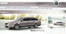 Škoda Auto timeline 1997 – 2017 / Look through the development of Škoda Auto websites on a timeline.