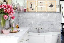 Bathroom / Future Bathroom Ideas and pretty things! / by Hannah Rae