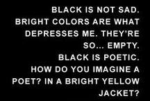 2013 Color Scheme: Black / by Melissa Shiver