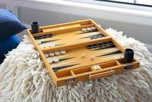 Geoffrey Parker Backgammon Boards / by MONC XIII