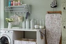 Home Laundry Room Ideas / by Audra Tucker