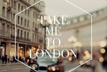 Take Me to London / by Bohemian Butterflies