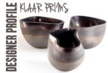 Designer Profile: Klaar Prims / As an Interior Designer Klaar Prims found herself frequently incorporating glass works into her projects. Over a decade ago she dove head first into the world of glass blowing and handling. Truly a labor of love, her works are incredibly artful and elegant.