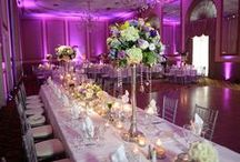Wedding Reception Ideas / Inspiration for designing your wedding tablescapes at your wedding reception.