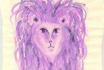 Art for Leo / Painting, photography, and other artworks related to the astrological sign Leo and its symbols…plus a bit of writing about the sign of the Lion