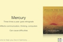 Mercury Retrograde: Resources / When Mercury goes retrograde (generally three times a year for about three weeks each time) we tend to face fuzzy thinking, miscommunication, technology breakdowns, lost items, delays, and obstacles of all kinds. We can reduce stress during these times by slowing down, putting plans on hold as much as possible, and going within for guidance to re-think, re-view, and re-do--as well as relax and rest. Here are some resources and tips for making the most of Mercury retrograde.