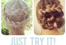 Hair tutorials / by Whitney Butterfield
