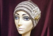 Hand Knit and Crocheted  Hats