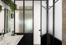 interior / interior - modern - minimalistic - white&black - love - Bathrooms - Bedrooms - other rooms - just best interior design board on Pinterest.  Have fun.