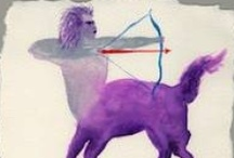 Art for Sagittarius / Painting, photography, and other artworks related to the astrological sign Sagittarius and its symbols…plus a bit of writing about the sign of the Archer