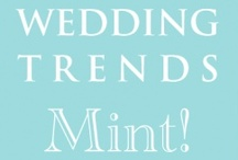 Wedding trends - mint