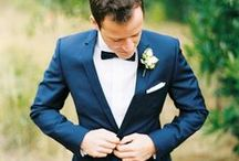 Groom & Groomsman Style / Wedding fashion inspiration for the groom and groomsmen