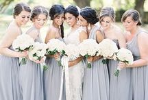 Bridesmaid Dresses, Styles and Bouquets / Bridesmaid dresses, style and bouquet inspo