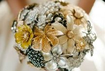 Unique Wedding Bouquets / From paper flowers to glitzy details, these unique wedding bouquets speak to their brides' individuality.