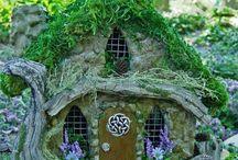 Fairy Garden • Fae Dwellings