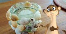 Einfache Bastelideen für Kinder / Hier findet Ihr einfache Bastelideen für Kinder. Die Ideen für die ganze Familie sind schnell umsetzbar und man kann die DIY mit Kindern gut nachmachen. Das Bastelmaterial besteht u.a. aus Kloppapierrollen, Küchenrollen, Naturmaterialien, Pom Poms, Wäscheklammern.