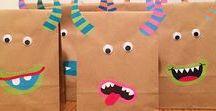 Geschenktüten Kindergeburtstag / Nachdem die Einladungen bereits liebevoll für den Kindergeburtstag gemeinsam gestaltet wurden, kann man sich am Tag vor dem großen Ereignis um die Geschenktüten (Gastgeschenke, Mitbringseltüten, Mitgebseltüten etc.) der kleinen Gäste kümmern. Viel Spaß beim Gestalten. #birthday #party #kids #bags #gift