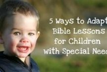 Inclusive 4s/5s Sunday School / Resources for inclusion of diverse learners with and without disabilities