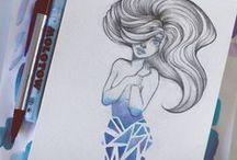 Zeichnen und kreative ideen