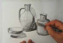 Art Drawing Video Tutorials / art drawing tutorials for practice / by Martha Smith Ⓥ