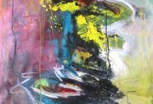 Art Abstract 1940-1960 and on / Abstract art is alive and well! / by Martha Smith Ⓥ