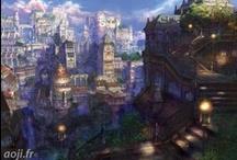 Imaginary Worlds Illustrations