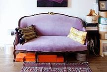 U P H O L S T E R Y / Beautiful upholstered pieces