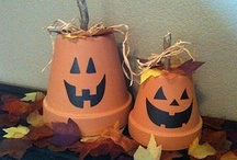 Fall Decor / Halloween, Thanksgiving and all things Autumn.