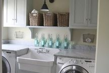 LAUNDRY & MUD ROOMS / Laundry and Mud Rooms with a little extra something