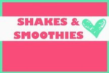 SHAKES AND SMOOTHIES / Green smoothie and shakes
